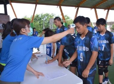 主辦單位CGM台灣基督教福音宣教會「主和睦光教會」特別設置防疫站為球員量測體溫,並採用實聯制等措施,期望打造一個安心運動的環境,也為社會防疫盡一份心力。