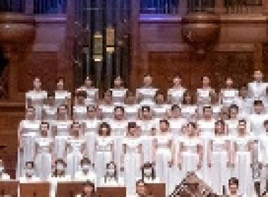 CGM基督教福音宣教會和平交響樂團暨合唱團3月8日舉行《想法世界》春季公演。 CGM基督教福音宣教會和平交響樂團暨合唱團/提供