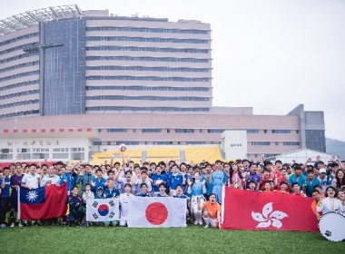 CGM全国平和サッカー大会、台港日韓チーム競技 写真/CGMサッカーリーグ提供