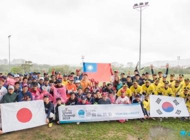 台日韩三国垒球球员