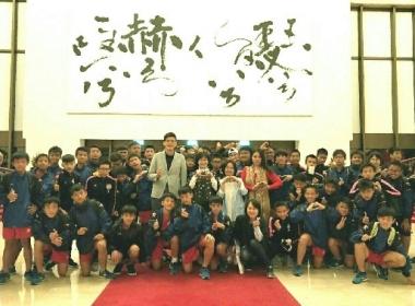 사진: 메이룬 중학교 체육부 타이베이 국립음악홀에서 국제 음악회 감상. 새로운 시각을 열게 되다
