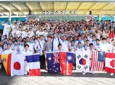 대만 기독교복음선교회(CGM) 일출예술단이 '하나님의 이상세계'를 공연을 통해 보여주었다.     © 박한나