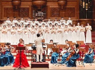 CGM기독교복음선교회와 심로합창단